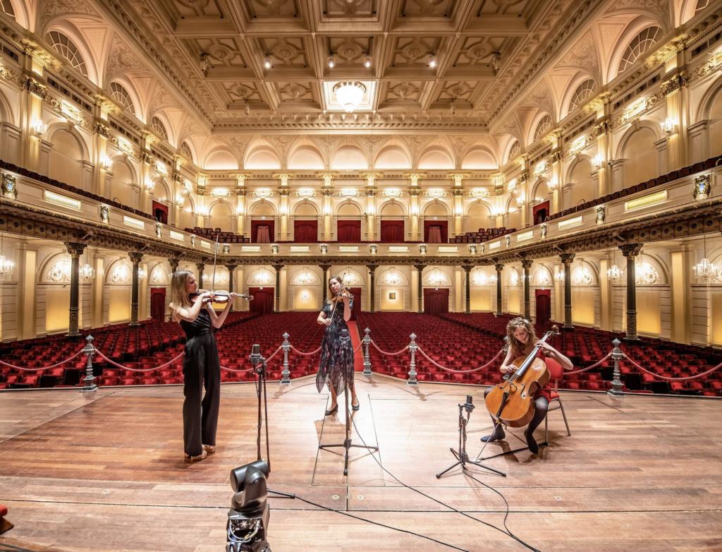 Lidy Blijdorp in Concertgebouw