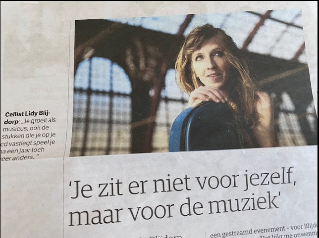 Interview NRC Lidy Blijdorp